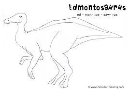edmontosaurus coloring