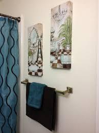 Blue And Brown Bathroom Sets Teal Bathroom Decor Teal And Brown Bathroom Teal And Brown