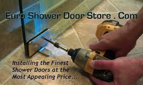 installing glass shower doors frameless shower doors brighton michigan