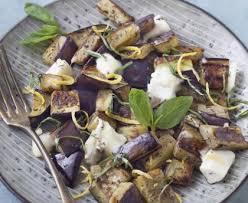 cuisiner l aubergine à la poele poêlée d aubergines au chèvre recette de poêlée d aubergines au