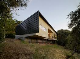 Steep Site House Plans Gorgeous House For Mobility Impaired Cantilevers Over Steep Slope