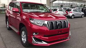 red land cruiser 2018 toyota land cruiser prado tx yokohama cars nz