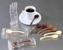 chocolate mold 3d spoon