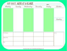 100 weekly staff schedule template free weekly work
