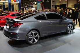 honda civic si modified hondayes honda reveals all new 2014 civic si coupe at the