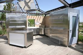 Outdoor Stainless Steel Kitchen - 31 outdoor kitchen ideas designs and pictures owe my cabinet