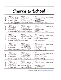chores charts and how to begin rocket city mom