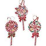 package of 24 tiny plastic sugared lollipop shaped