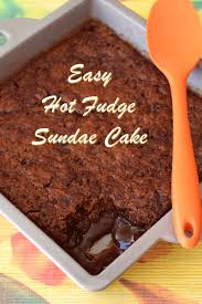 fudge sundae cake recipe dairy free