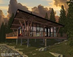 cabin house ellenwood homes