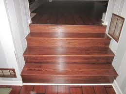 how to install laminate flooring on stairs with stair nose