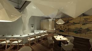 restaurant design for narisawa architecture project the rookies