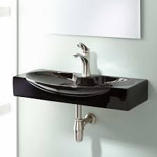 Black Bathroom Sink Faucet by Ronan Wall Mount Bathroom Sink Bathroom