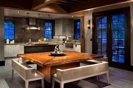 cuisine chalet montagne chalet de luxe dans le montana offrant des vacances en montagne