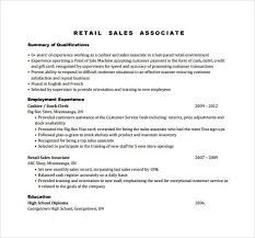 examples of resumes for sales associate unforgettable sales