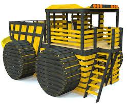 large dump truck play set plan 250ft wood plan for kids