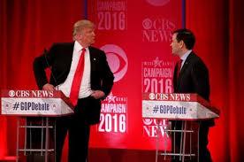 donald trump presiden amerika trump bush gaduh mulut washington dua calon presiden amerika