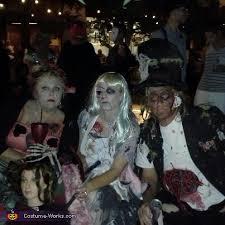 Mad Hatter Halloween Costume Alice Wonderland Zombies Group Halloween Costume Photo 5 5