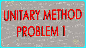 unitary method problem 1 maths class 6 vi isce cbse ncert