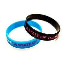 black bracelet pink images A state of trance a state of trance black pink wristband jpg