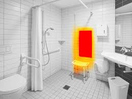Infrared Heating In The Health Care Heatfun Bathroom Heat L Fixtures