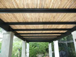 diy retractable pergola canopy awning youtubebamboo roof bamboo