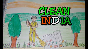 drawing tutorial drawing on swachh bharat clean india drawing