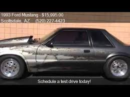 1993 ford mustang 5 0 1993 ford mustang lx 5 0 2dr coupe for sale in scottsdale a