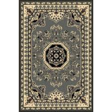 Kingdom Rugs Persian Weavers Rugs Kingdom D 141 Grey 6 U0027x9 U0027 Rectangle From
