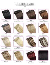 Aliexpress Com Hair Extensions by Aliexpress Com Buy Color 60 Clip In Human Hair Extensions