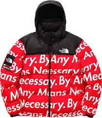 buy superwe x the north face white letters splice black red