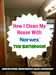 Clean My House How I Clean My House With Norwex Bathroom