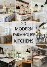 how to decorate a rustic kitchen modern farmhouse kitchens for gorgeous fixer style