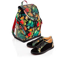 christian louboutin seava flat suede black louboutin sale shoes