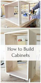 how to diy cabinet diy kitchen cabinets made from only plywood diy