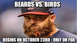 Funny Red Sox Memes - red sox vs cardinals beards vs birds on memegen