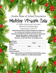 home and school association wreath sale avalon new jersey