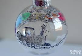 fingerprint ornament for for your tree