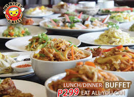 Cheap Lunch Buffet by Hi Rice Grill Home Pasig Menu Prices Restaurant Reviews
