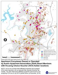 City Of Austin Map by Mapping The Austin Apartment Association U0027s Opposition To Source Of