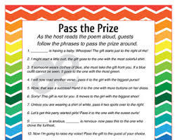 prizes for baby shower prize tags for baby shower bridal shower or party in