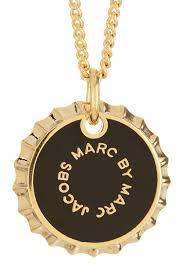 bottle cap necklaces marc by marc jacobs lost u0026 found bottle cap pendant necklace