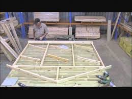 cubbykraft how to make a cubby house timber frame part 3 youtube