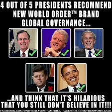 New Meme Order - did you know 4 out of 5 presidents recommend the new world order