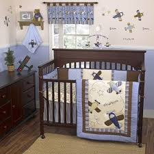 Helicopter Crib Bedding Airplane Nursery Wall Decor Crib Bedding Baby And Glenna Jean