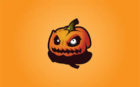 pumpkin screensaver halloween theme special evil pumpkin vector wallpaperspics