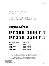 100 pc300 8 parts manual manual de rendimiento komatsu ed