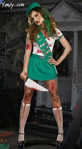 Zombie Halloween Costumes Girls Diy Costume Lovers Group Costumes College Girls