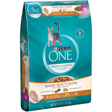 purina one sensitive systems premium cat food 7 lb bag