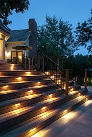 Kichler Outdoor Lighting Kichler Outdoor Lighting Deck Traditional With Deck Lighting